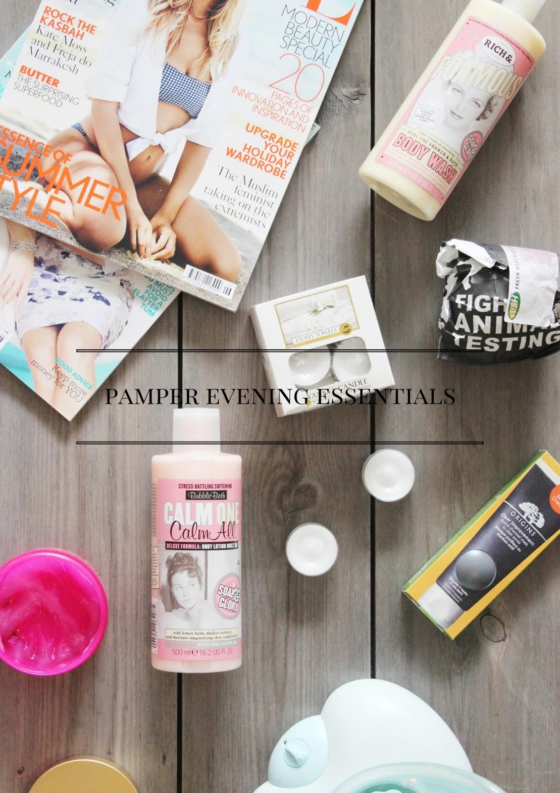 Pamper Evening Essentials With Victoria Plumb