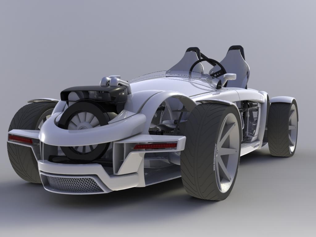 Concept 2 Model D >> Sports Car Burton Elementz | The Car Club