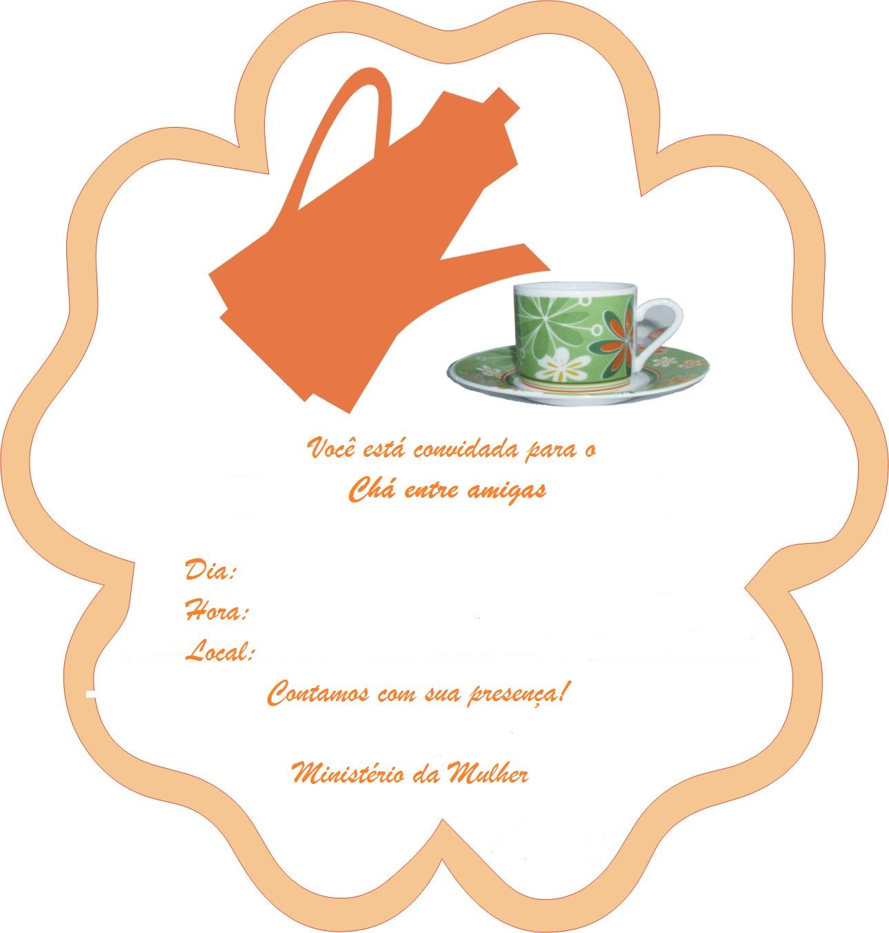 Famosos Artes da Debuxe: Chá entre amigas - Idéias de programação  XP99