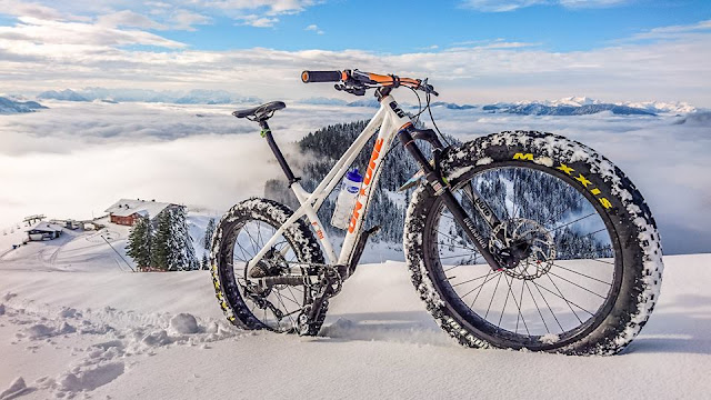 Mountainbiketouren im Winter
