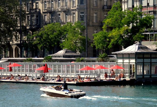 Frauenbad Women Pool Zurich