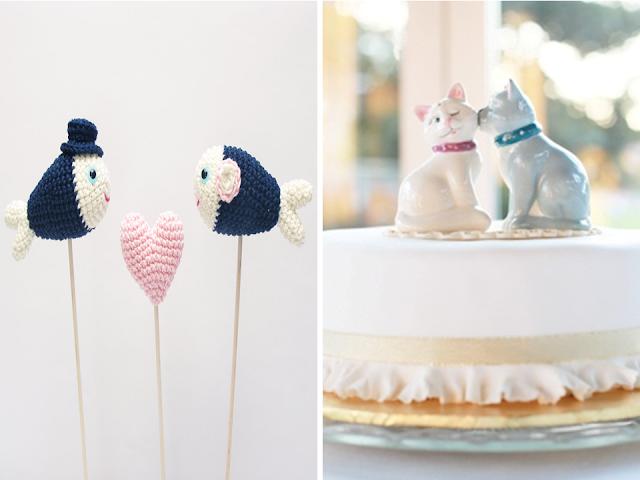 topo de bolo porcelana casamento
