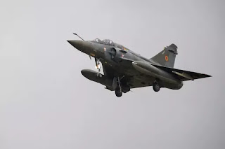 Mirage fighter jet disappears over eastern France