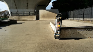 ロンスケメーカーのスケートパーク用デッキ シェイクダウン34インチ