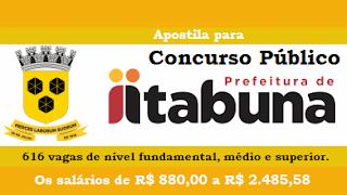 Concurso Prefeitura de Itabuna BA