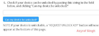 Can my device be unlocked
