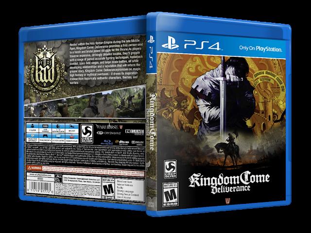 Capa Kingdom Come: Deliverance PS4