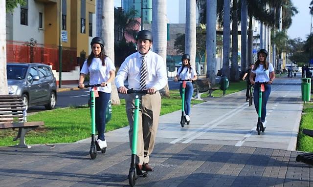 Scooters no podrán circular por veredas