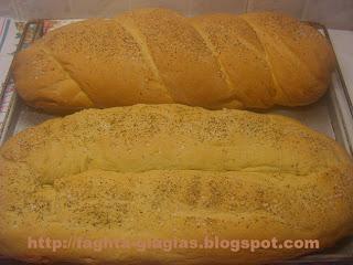 Τα φαγητά της γιαγιάς - Ψωμί με λάδι, ρίγανη και αλάτι