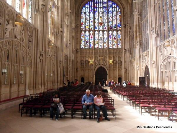 Capilla del King's College (Cambridge, Inglaterra)