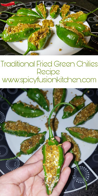 stuffed fried green chilies recipe, Bharli Mirchi, Bharwan Mirch green chilies, indian, indian recipe, indian cuisine, spicy food, dry relish, relish, rice dishes, traditional, traditional indian recipe, traditional indian side dish, side dish, stuffed chilies, fried chilies, food, food photography, pinterest food, spicy food recipe, spicy food pictures, food styling, food styling pictures, spicy fusion kitchen, organic chilies, organic vegetables