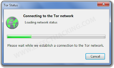 Connecting to Tor network