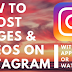 How to Repost something On Instagram
