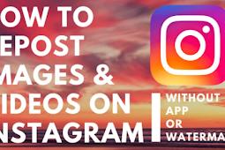 How Do You Repost An Instagram