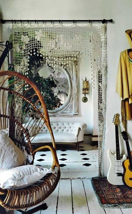 boho-chic home design inspiration