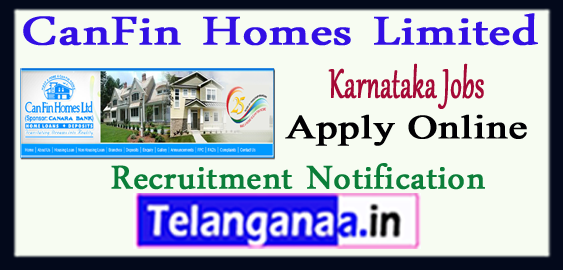 CanFin Homes Limited Recruitment Notification 2017 Apply