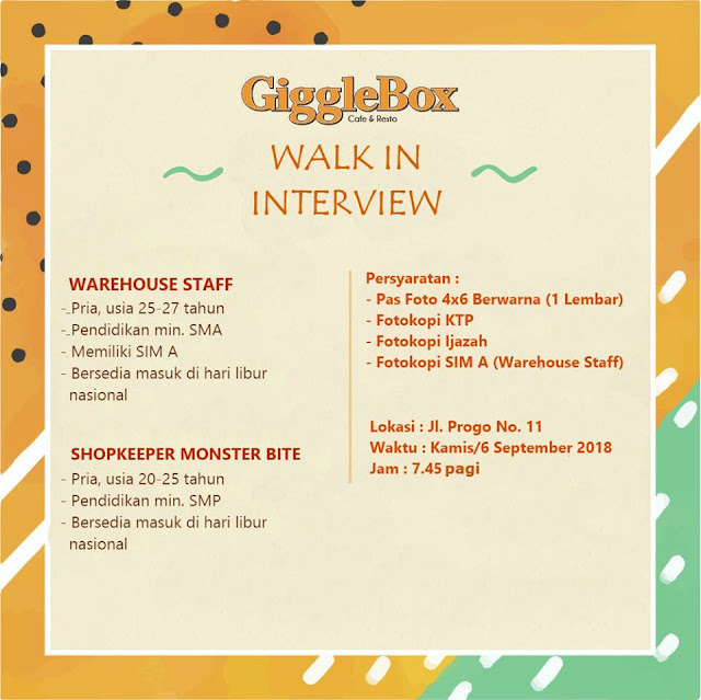 Walk In Interview GiggleBox