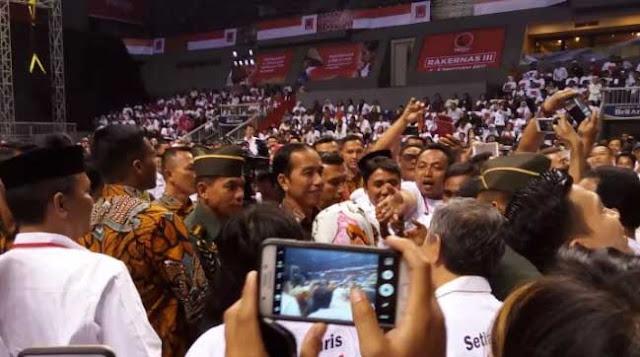 Dihadapan Projo, Jokowi : Saracen Itu Harus Dilawan!