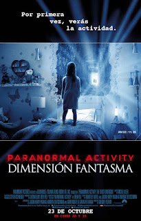 Cartel: Paranormal Activity: Dimensión fantasma (2015)