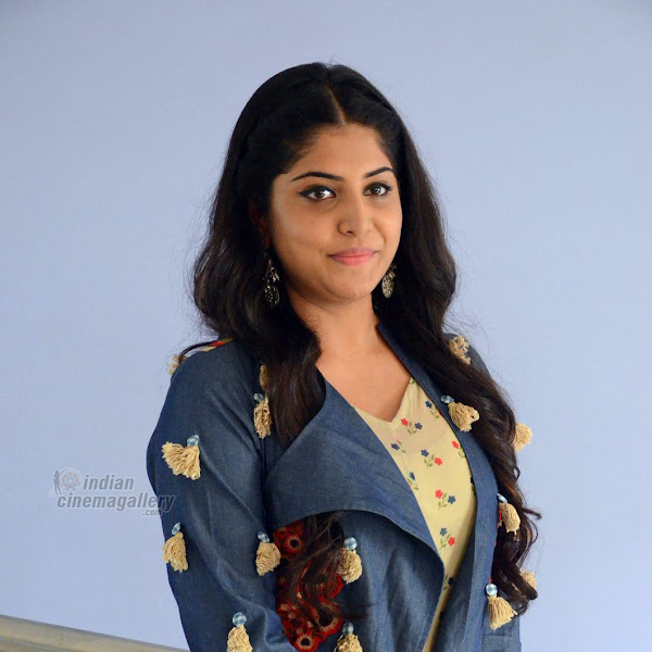 Manjima Mohan latest photos from press meet