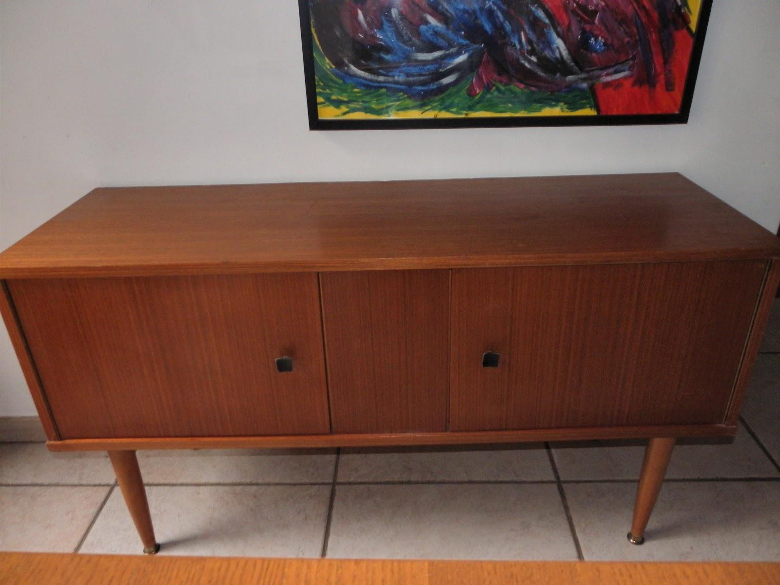 lucie la chineuse meuble bas style scandinave ann e 60. Black Bedroom Furniture Sets. Home Design Ideas