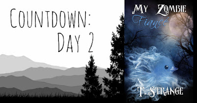 My Zombie Fiancé Countdown - Day 2 - A Wild Author Appears!