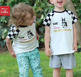 Fußball-Shirt aus Raglan.kids von Leni pepunkt
