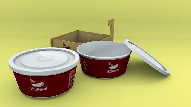 Tusbowl Packaging Design