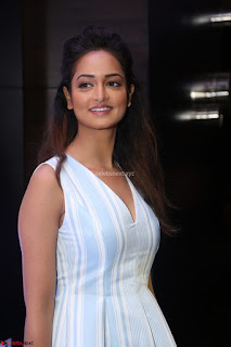 Shanvi Looks super cute in Small Mini Dress at IIFA Utsavam Awards press meet 27th March 2017 112.JPG