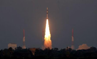 PM Modi and Pranab Da congrats ISRO for successful launch of Navigation Satellite IRNSS-1G