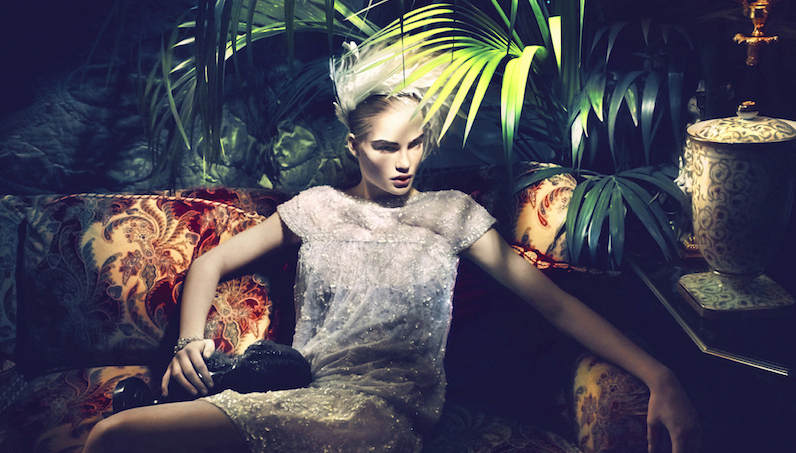 haute couture: isabel scholten by chuando & frey for l'officiel singapore march 2014