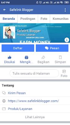FP Safelink Blogger