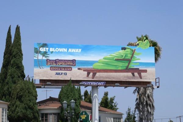Hotel Transylvania 3 Summer Vacation movie billboard