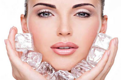 Ice Cube Massage For Smooth and shiny skin,  Ice Cube Massage on skin