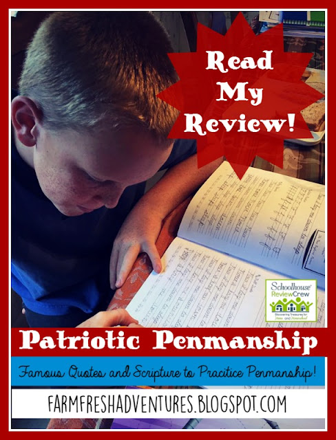 Patriotic Penmanship from Laurelwood Books~ A Review
