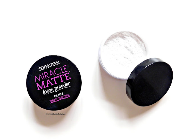 Loose Powder For Oily Skin, Seventeen Miracle Matte Powder