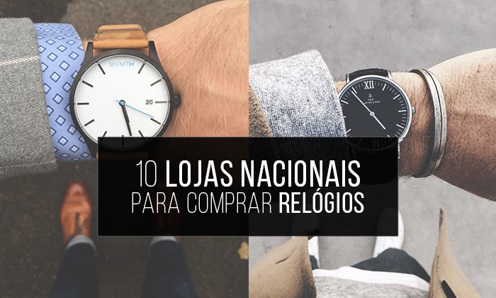 58da8f382d1 Macho Moda - Blog de Moda Masculina  Relógios Masculinos  10 Lojas ...