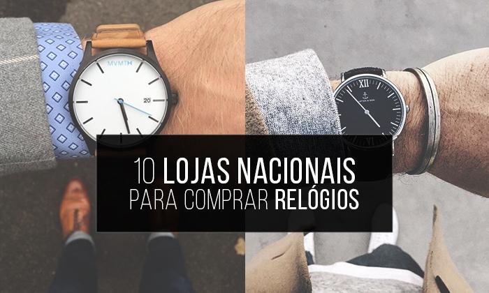 2f7cdb0c6cb Macho Moda - Blog de Moda Masculina  Relógios Masculinos  10 Lojas ...