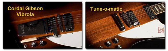 Diferentes Tipos de Puentes en la Guitarra Gibson Firebird