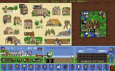 Videojuego Sid Meier's Colonization