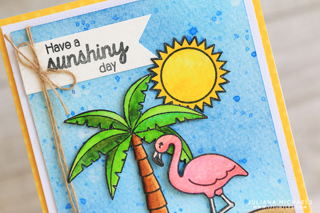 Have A Sunshiny Day Sneak Peek by Juliana Michaels featuring Sunny Studio Stamps