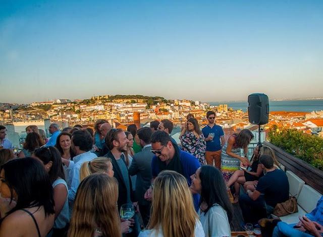 Vista da Silk em Lisboa