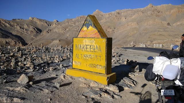 Leh Ladakh Bike Trip, Nakeela Paas