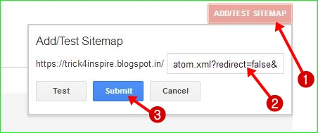how add sitemap