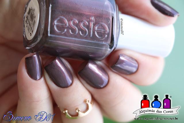 Semana Essie, Sable Collar, Marrom, shimmer, vinil Nails, Vinil, Nail Art, Beyond Cozy, Dourado, Glitter, Mony D07, Essie,