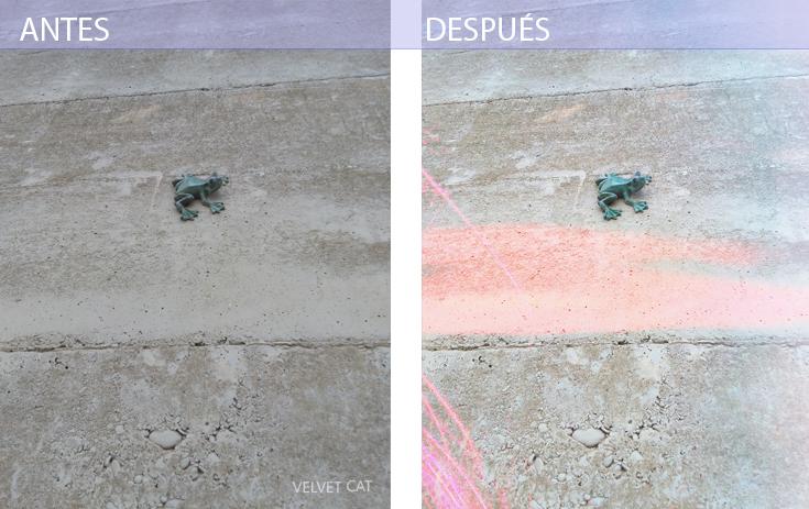Pixlr antes y después