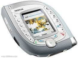 hape antik Nokia 7600 (ponsel ketupat)