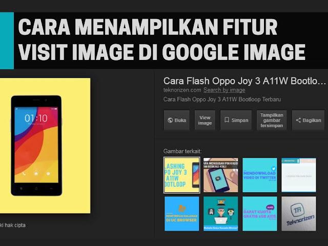 Cara Menampilkan Fitur Lihat Gambar di Google