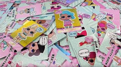 Карточки с куклами Лол Сюрприз