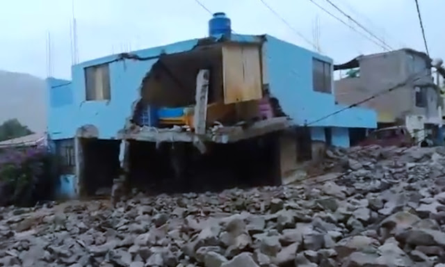 Huaico en Arequipa 2019